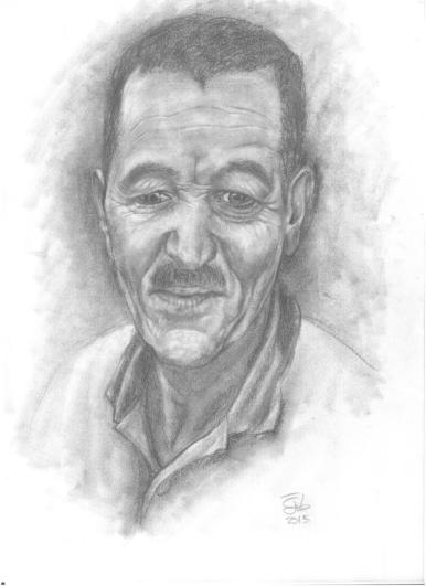 Retrato de hombre / Portrait of a man