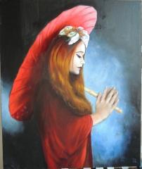 Sombrilla roja
